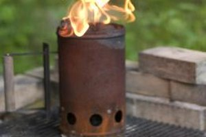 Keep replenishing your smoker with fresh coals, ignited in a chimney starter.
