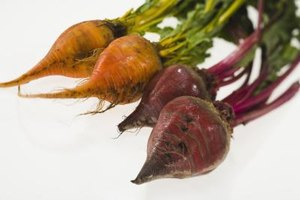 Avoid staining lighter-colored beets by pickling them separate from red beets.