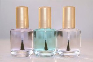 You can buy top coats and base coats in stores or salons.