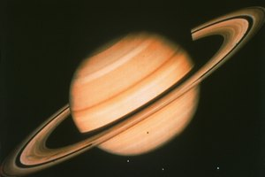Saturn's Temperature Ranges