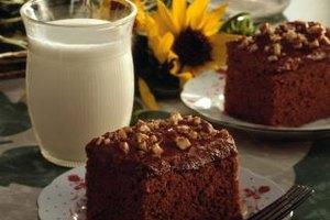 Light, fluffy commercial cakes often use emulsified shortening.