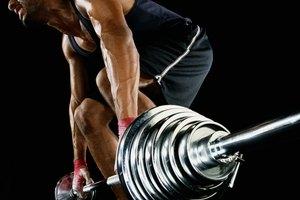 Levantar pesas para desarrollar un glúteo máximo grande