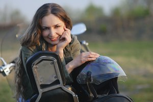 How to Prevent Helmet Hair From Motorcycle Helmets