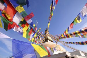 How to Dispose of Buddhist Prayer Flags