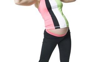 Ejercicios para adelgazar los brazos durante el embarazo