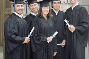 What to Wear Under a Cap & Gown