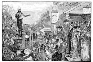 What Changes Took Place in the Early 1800s That Broadened Democracy in the United States?