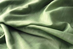 Polyester satin is a delicate blended fabric that requires extra care.