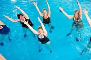 Ejercicios de natación para las piernas