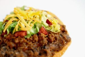 Leftover ground beef or steak make tempting tacos and tostadas.