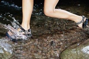 Sandálias De Como Tiras Como Alongar R4q35ALj