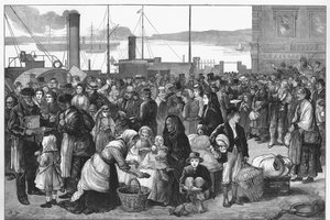 The Life of Poor Irish in the 1700s