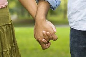 Physical intimacy might be a sign post of an exclusive relationship.