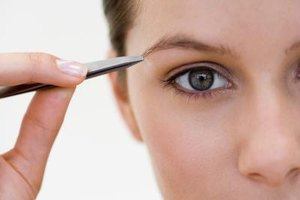 Master the art of plucking your eyebrows.