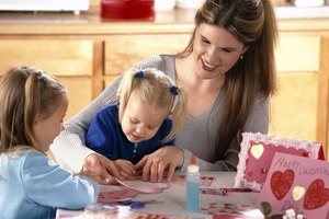 Valentine Crafts for 2-Year-Olds