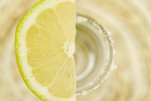Take tequila shots with lemon when limes are out of season.