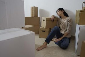 Ask for help moving if you decide to move out after your breakup.
