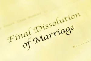 Courthouses keep records of divorce decrees in case new copies are needed.