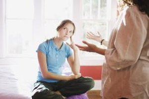 Allowing your mother to express her anger can help her get control.