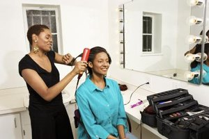 The longer and thicker your hair weave, the longer it will take to straighten it with a flat iron.
