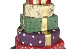 How to Put Together a Two-Tier Cake