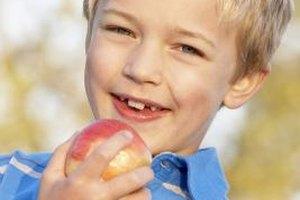 Let children pick their own apples outside.