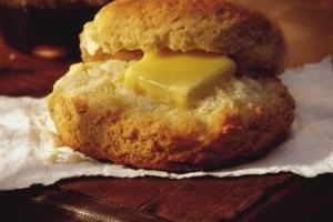 Flaky biscuits are attainable without a conventional oven.