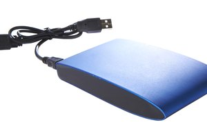 How to Format a New SATA External Hard Drive on a Windows Seven USB Port