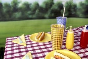 Hot dogs make simple summer meals.
