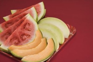 Fresh melon makes creative appetizers.