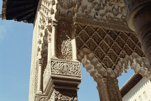Arabesques in Islamic Art
