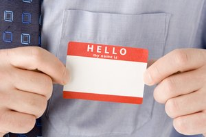 Proper Etiquette for Wearing Name Tags