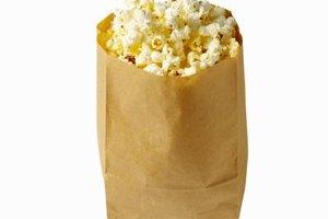 A plain paper bag can help you repop those unpopped kernels.