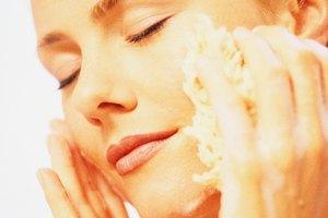 Limpiador facial con bicarbonato de sodio y crema hidrantante con vitamina E