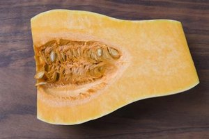 Butternut squash is full of vitamins and nutrients.