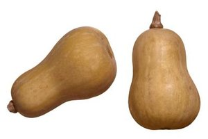 Butternut squash has a distinctive look that's easy to spot in the market or garden.