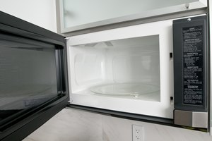 Microwave defrosting is safer than leaving meat on the counter.