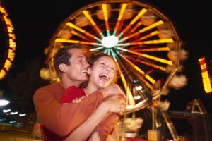 Treat your boyfriend to a fun and exciting night at the fair.