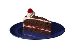 Substitute cherry syrup, jam or extract for cherry liqueur in Black Forest cake.