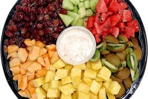 A fruit platter makes a simple, kid-friendly brunch appetizer.