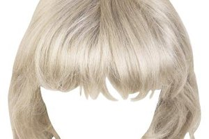 Get creative and cut bangs into your bob wig.