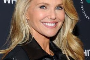 Christie Brinkley displays dewy skin at a film screening in New York.