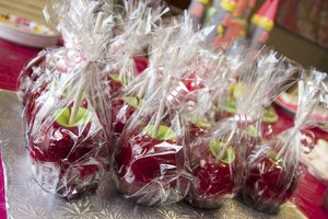 How to Store Candy Apples
