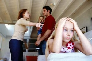 A bad marriage can have long-term effects on a child's mood and behavior.