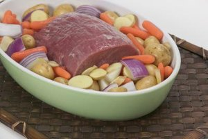 Wet roast your beef with vegetables for added flavor.