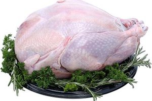 Cook a turkey carefully to avoid food-borne illness.
