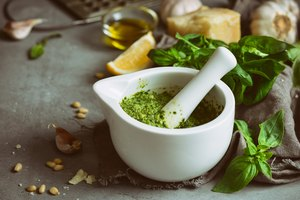 How to Substitute Basil in Pesto