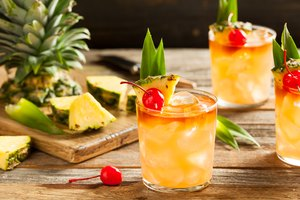 Drinks Made With Pineapple Rum