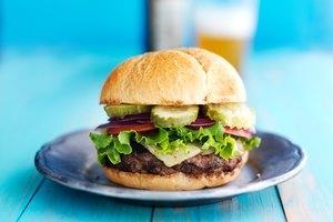 How to Keep a Hamburger Together