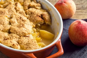 How to Store Peach Cobbler